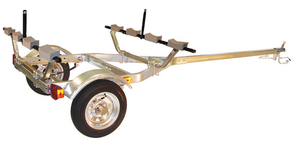 Malone MicroSport 4-Boat Stacker Kayak Trailer Package by Malone
