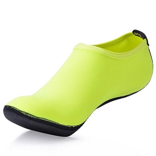 JACKSHIBO Erwachsene Barfuß Schuhe Weich Wassersport Schuhe Damen Schwimmschuhe Surfschuhe Badeschuhe