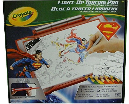 Crayola Light-Up Tracing Pad - Red Superman ()