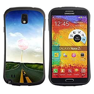 "Hypernova Slim Fit Dual Barniz Protector Caso Case Funda Para Samsung Note 3 [Naturaleza Hermosa Forrest Verde 65""]"