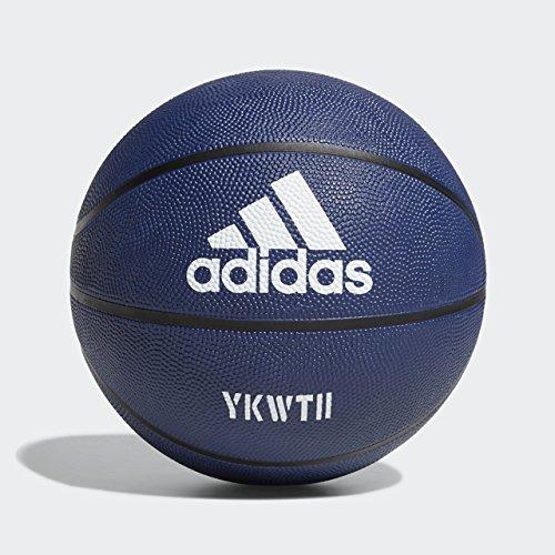 adidas F18BMDAM800 Damian Lillard Signature Basketball, Dark Blue ...