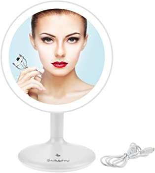Miuphro LED Lighted Makeup Vanity Mirror