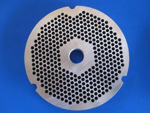 #32 x 1/8 meat grinder disc plate Hobart Cabelas LEM