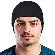 Skull Cap by GearTOP  Best Helmet Liner Hat for All Motorcycle and Biking Helmets,