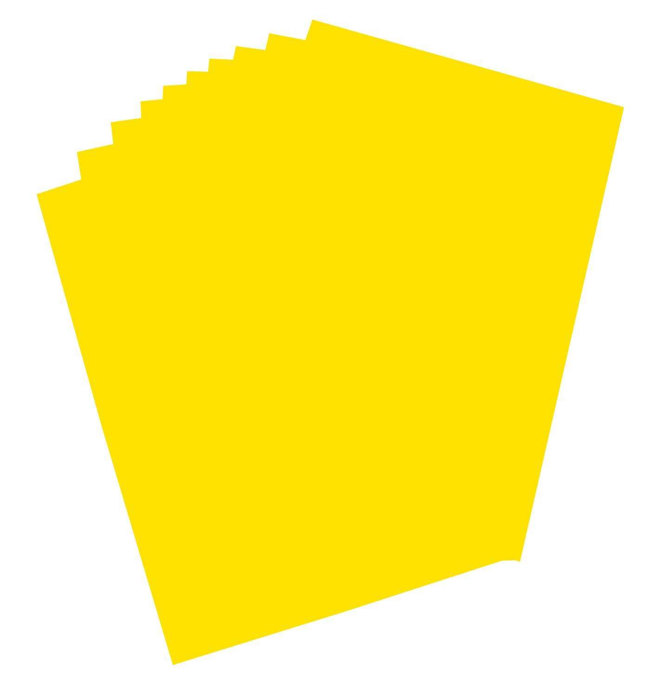 folia 65611 Plakatkarton (48 x 68 cm, 10 Bogen) gold 210242