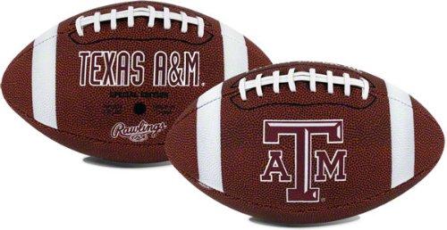 NCAA Game Time FullサイズブラウンFootball B004DPHC7W   texas-a-m-aggies