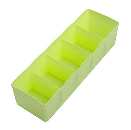 Cdet 3x Caja de almacenamiento de cajones de plástico para uso doméstico Viaje Bolsa guardar para