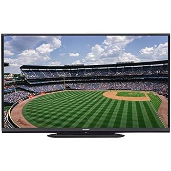 SHARP LC-90LE657U 90-INCH AQUOS HD 1080P 120HZ 3D SMART LED TV (FREE WALL MOUNT)