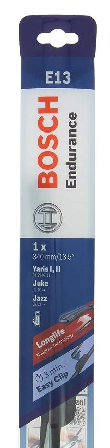 Bosch 50193 - Escobilla para limpiaparabrisas Endurance Retro Fit E13