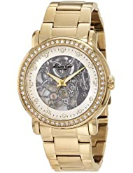 Kenneth Cole Womens KC4825 Analog Display Japanese Automatic Gold Watch