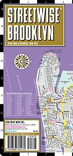 Download By Streetwise Maps Streetwise Brooklyn Map - Laminated City Center Street Map of Brooklyn, New York - Folding pocket si pdf
