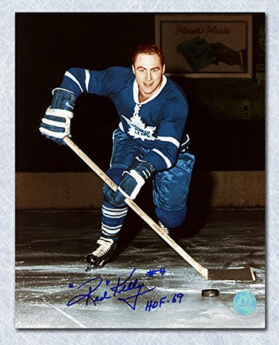 Image Unavailable. Image not available for. Color  Red Kelly Toronto Maple  Leafs Autographed ... 43bafa905