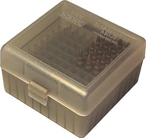 Mtm 100 Round Rifle Ammo Box 17 204 223 5 56x45 6x47