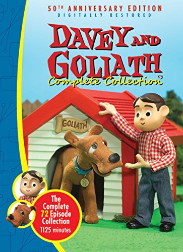 Davey & Goliath Complete Collection -72 Episodes - 5 DVD Box - Goliath Collection