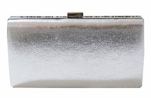 9cb59404d6 Covelin Women's Handbag Envelope Rhinestone Evening Clutch Bag Hot ...