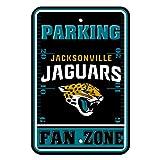 NFL Jacksonville Jaguars Fan Zone Parking Sign