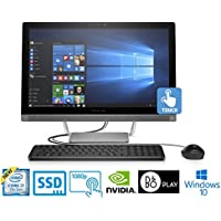 "HP Pavilion 27, Core i7-7700T, 16GB, 1TBHD/128GB SSD 27"" FHD Touch, All-in-One (Certified Refurbished)"