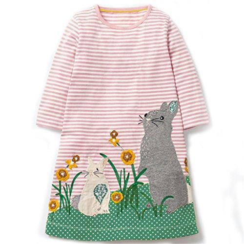 Pink Rabbit Dress - 7