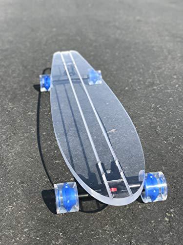 jelly skateboard clear - 3