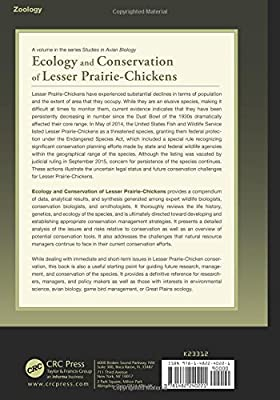 Ecology and Conservation of Lesser Prairie-Chickens (Studies in Avian Biology)