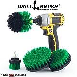 Kyпить Bathroom Cleaning Scrub Brush and Nylon Power Brush Tile and Grout Kit на Amazon.com