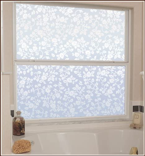 Eden Etched Glass Semi-Private Window Film – 48 in x 74 in