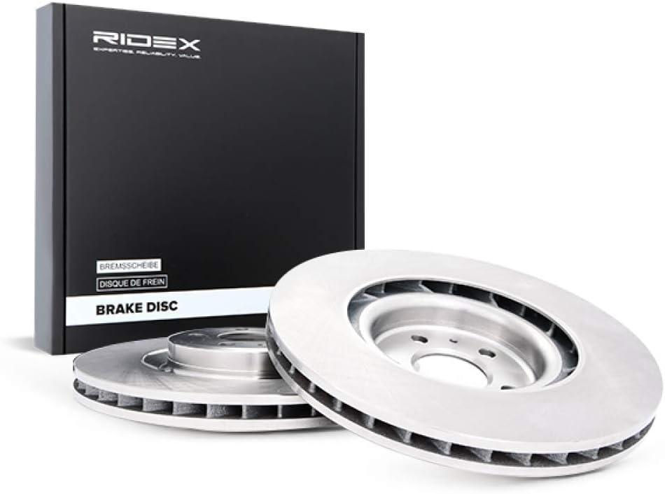 x2 Bremsscheiben Vorne RIDEX 82B0619 Bremsscheibe Scheibenbremsen
