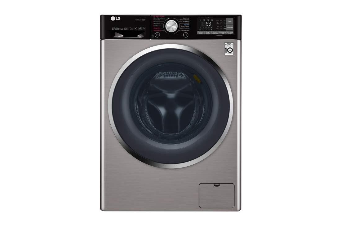 LG F14WD107TH6 lavadora Carga frontal Independiente Negro ...