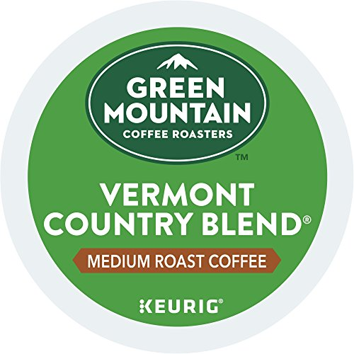 Blend Country K-cups Vermont (Green Mountain Coffee Roasters Vermont Country Blend Keurig Single-Serve K-Cup Pods, Medium Roast Coffee 72 Count (6 Boxes of 12 Pods))
