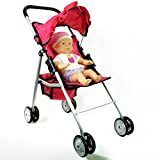 First Doll Stroller for Kids - Pink