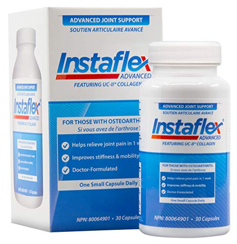 Instaflex Advanced Joint Support - Doctor Formulated Joint Relief Supplement, Featuring UC-II Collagen & 5 Other Joint Discomfort Fighting Ingredients - 30 Count (Support 90 Caps)