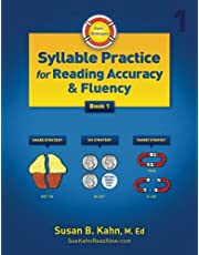 Sue's Strategies Syllable Practice for Reading Accuracy and Fluency: Book 1