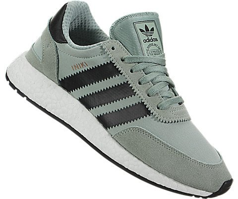 e74d35ab604e2 adidas Iniki Runner Womens in Tactile Green/Core Black, 7.5 | Amazon