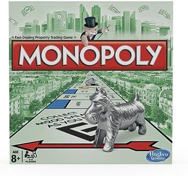 Hasbro Gaming - Monopoly clásico, Juego de Mesa (00009) (versión Inglesa): Amazon.es: Juguetes y juegos