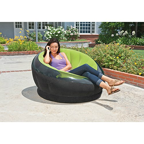 Intex Inflatable Empire Chair, 44″ X 43″ X 27″, Color May Vary, 1 Chair