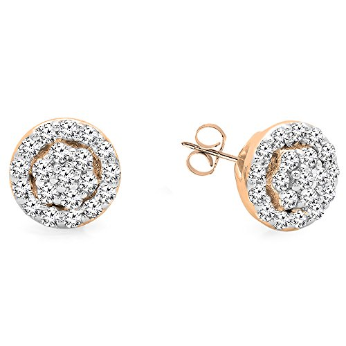 0.25 Ct Diamond Earrings - 5