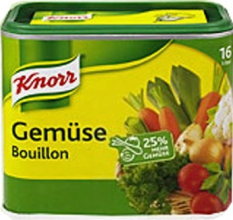 Knorr Instant Vegetable Bouillon ( Genuese Bouillon ) for 16 Liter