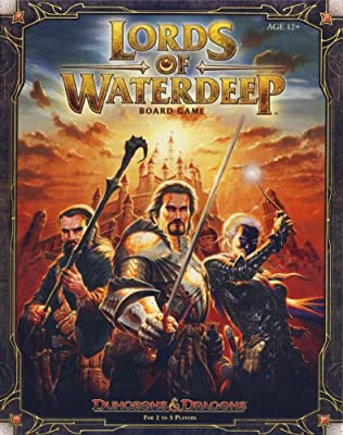 Lords Of Waterdeep A Dungeons Dragons Board Game from Wizards of the Coast