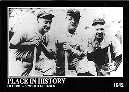 Babe Ruth Ty Cobb Tris Speaker baseball card Hall of, used for sale  Delivered anywhere in USA