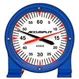 ACCUSPLIT AX850 Lane Timer/Pace Clock, Blue, 15-Inch