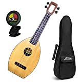 Magic Fluke Co. Flea M30 Ukulele Natural w/ Gig Bag and Tuner