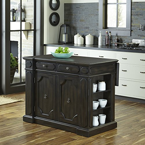 Home Styles 5077-94 Hacienda Wood Top Kitchen Island