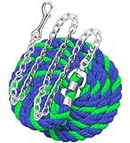 Perri's Neon Cotton Lead with Chain