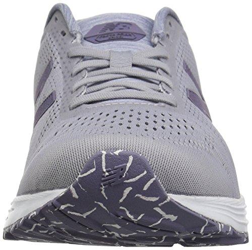 New Balance Women's Fresh Foam Arishi V1 Running Shoe, Light Grey/Purple, 5 B US by New Balance (Image #4)