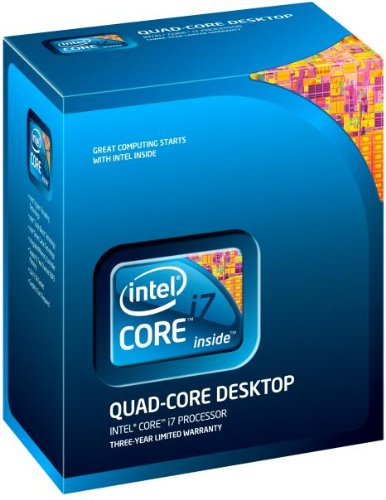 Intel Core i7-870 Processor 2.93 GHz 8 MB Cache Socket LGA1156 by Intel
