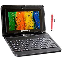 LINSAY 7in. Wi-Fi Tablet, 4GB, Black, F-7hd2core F-7hd2corekeyboardbundle