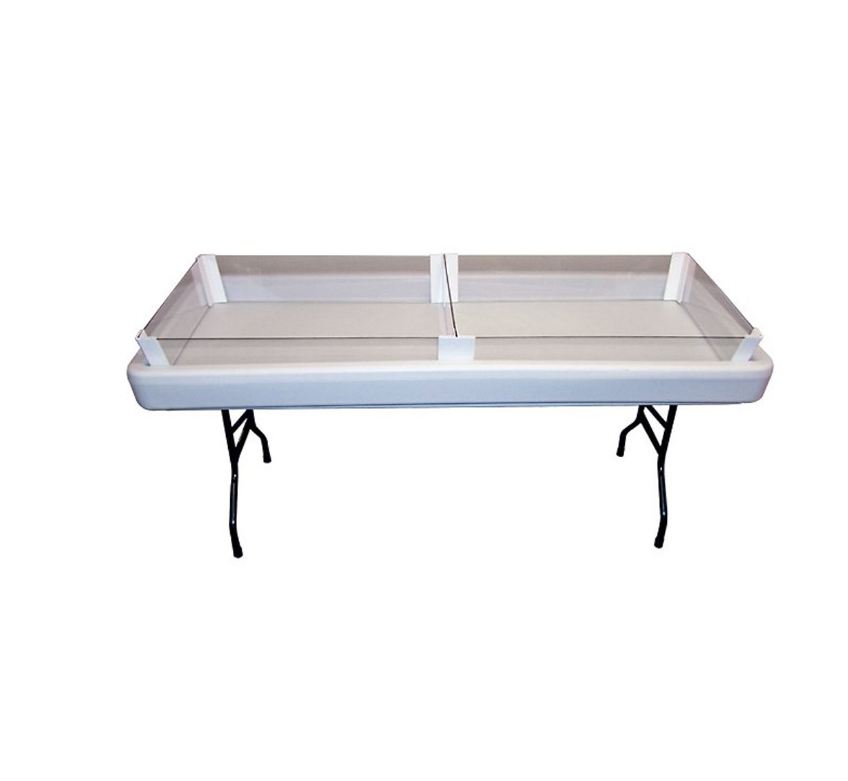 Chillin' Products 8'' Full Depth Extension for Fill 'N Chill Tables - White by Chillin' Products