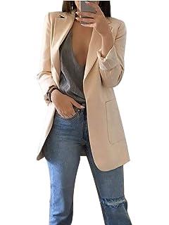 Blazer Long à Imprimé Léopard Grande Taille Femme Chic,Overdose Hiver Soldes Veste Smoking Cardigans Longue Classique Suit Coat