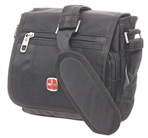 hombre negro hombro Bags negro Bolso New para al OFwS4OTq