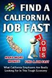 Find a California Job FAST, Nick Vulich, 1494412888